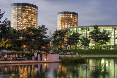 Architekturfotografie in der Autostadt Wolfsburg