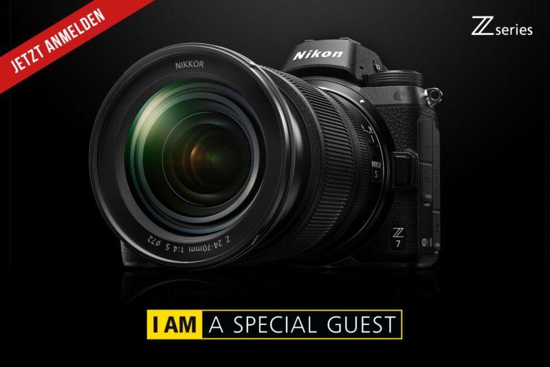 Nikon Z7 / Z6 Info-Abend am 14.09.2018 bei Fokuspokus